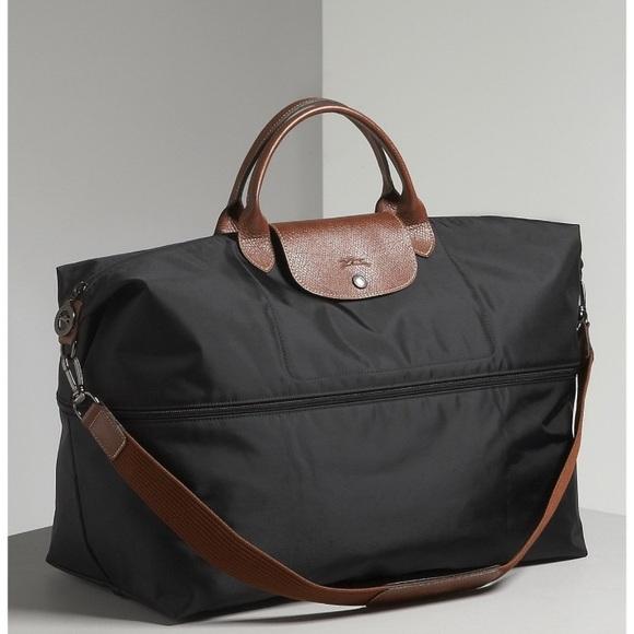 b4a80f49be10 Longchamp Handbags - Longchamp Le Pliage Expandable Nylon Duffle Bag